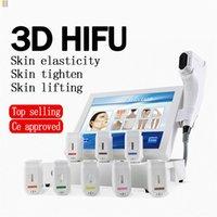 2020 Yeni Spa Taşınabilir HIFU Yüksek Yoğunluk Odaklı Ultrason HIFU Yüz Vücut Asansör 3D HIFU Kırışıklık Temizleme Güzellik Makinesi Cilt # 005