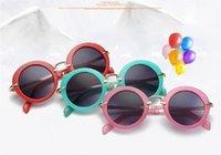 Nouveaux Lunettes de soleil enfants Lunettes de soleil mignonnes pour bébés filles garçons lunettes de soleil mode lunettes en gros DDE3240