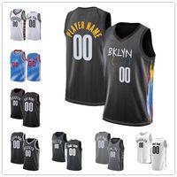 مخصص للرجال Kevin 7 Durant Kyrie # 11 Jersey Irving Jarrett 31 Allen Juy 12 Harris Jeff 8 Green Caris 22 Levert City كرة السلة الفانيلة