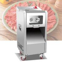 2200W Maschine zum Schneiden von Fleisch Neuen Hochleistungs-Fleischschneidemaschinen kommerzieller Vertikaler Shredder Slicer Jagde