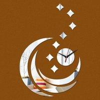 Wanduhren Quarz Acryl Pastoralen Uhr Modern Dekoration Luxusspiegel Kristall Uhren