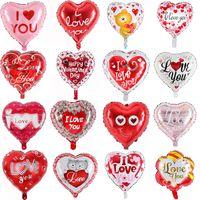 18inch aime aluminium feuille balloons mariage mariage décorations ballon valentine