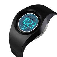 Relojes de pulsera Skmei Niños Impermeable Reloj Niños Niñas LED Relojes Digitales Deportes Relojes Plástico Niños Alarma Fecha Casual Seleccione Regalo para Kid1