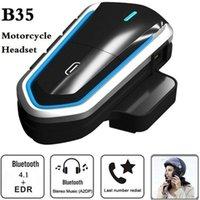 Walkie Talkie B35 Motorradfahrer Helm Intercom Bluetooth 4.1 Headset Interphone Audio Kit