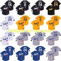 2020 nouvelles losAngeles 8 24 BryantKB Black Mamba Baseball Jersey Nom cousu Numéro cousu Numéro rapide Sthipping Hommes Jeunesse Femmes 06
