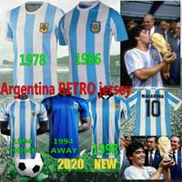 التايلاندية 1986 1978 الأرجنتين الرجعية لكرة القدم جيرسي مارادونا خمر كلاسيكي 94 الرجعية مارادونا 98 قمصان كرة القدم مايوه camisetas دي فوتبول