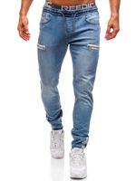 Skinny Jeans Männer Freundinnen Streetwear Hip Hop Designer Denim Hosen mit Taschen Mode Hospe Hose Herren Kleidung 4XL