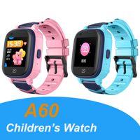 A60 4G أطفال الساعات الذكية للأطفال wifi اللياقة البدنية سوار ووتش gps متصلة IP67 للماء الطفل gps smartwatch