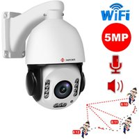 Cámaras ImporX 5MP WiFi Auto Seguimiento IP Cámara IP 20X Zoom óptico Human Speed Speed Dome 2592 x1944 Red PTZ