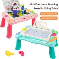 Bloques Estudio Tabla Magnético Dibujo Tablero Ladrillos Modelo Kits de construcción Classic Compatible Juguetes educativos para niños Niños Niña