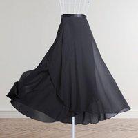 ÉTABLES D'ÉTABLES ADULTES LONG TRIFFON BALLET JUNES DE BALLET FEMMES LYRIQUES Robe douce noire Costumes de danse Bourgogne