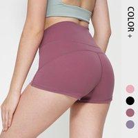 Nuovi pantaloni da yoga a vita alta a vita alta, pantaloncini sportivi da corsa rapidi, pantaloni da donna Autostituzione per donna