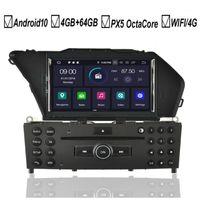 Android 10 автомобильный DVD GPS-плеер для GLK-класса X204 GLK300 GLK350 OCTA 8 Core 4GB + 64GB Radio Stereo BT Wi-Fi карта DAB + 1