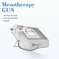 Aguja de belleza Mesoterapia libre Pistola RF LED Terapia Luz de Luz Sin Need Meso Arma Inyección de agua Inyección de ácido Inyección contra la piel Rejuvenecimiento