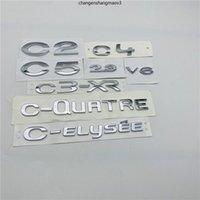 Pour Citroen C2 C4 C5 2.3 V6 C3-XR C-ELYSEE C-QUARE Emblem Script de plaque signalétique