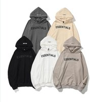 Luxuriöse Dessinger Mode Essentials 3D Silikon Hoodies Skateboard Lose Hoodie Fog Hoody Hoody Hooded Sweatshirt