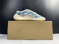2021 الاحذية 700 v3 kyanite azareth GY0260 G54850 الأزرق مضيئة عداء الرجال حذاء 700v3 الرياضة النساء تشغيل حذاء الحجم 36-48
