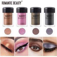 Eye Sombra 12 Cor Diamante Eyeshadow Nude Metal Shimmer Brilho Glitter Único Líquido Maquiagem Pigment Accessorices Beleza Cosméticos