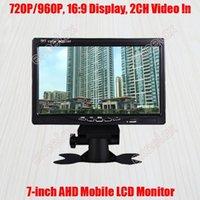 "7-Zoll 720P 1MP 960P 1.3MP HD AHD Mobile Monitor 7 ""LCD-Anzeige 2CH A / V-Video-Fahrzeug Rückansicht für CCTV-Überwachungsfahrzeug Mount1"
