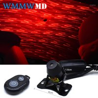 Auto Styling Innendekoration Licht USB LED Sternenhimmel Star DJ RGB Laser Projektor Musik Sound Fernbedienung Auto Home Party1