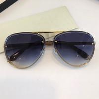 GWA 유니섹스 자동차 안경을위한 인기있는 선글라스 패션 탑 야외 UV400 고글 타원형 프레임이없는 나 타원형 외부 프레임 무료 상자