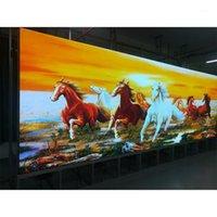 Pantalla LED Signo P3.91 Panel de módulo interior 500 * 1000mm Resolución de pantalla de video de video 128 * 256Dots Pantalla a todo color1
