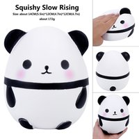 Cute Panda Squishy Slow Rising Soft Squeeze Toys For Children Kawaii Animal Doll Funny Stress Reliever Toys For Kids Adults Gift Y0110