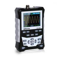 KKMOON DS0120M الذبذبات الرقمية 120 ميجا هرتز عرض النطاق الترددي 500msa / s معدل أخذ العينات أداة المهنية مع الخلفية الموجي تخزين 1