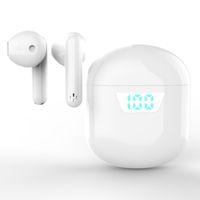 2021 NUEVO J55 Auriculares Bluetooth Auriculares inalámbricos TWS Auriculares de juego MIC LED Pantalla Mini Auriculares Toque inalámbrico J55 Impermeable