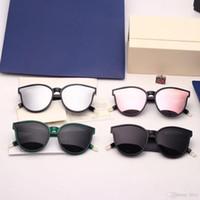 Brand Sunglasses-2018 Nuovo Coreano Top Fashion V Brand GM Monster Sunglasses Occhiali da sole per donna di lusso Occhiali da sole Occhiali da sole con custodia originale