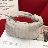 Yeni 2021 B :-) V Örme Düşük Profilli Çanta Luxurys Tasarımcılar Çanta Hakiki Deri Çanta Kadın Çanta Sepetleri Özel Tasarım Öküz Boynuz Çanta