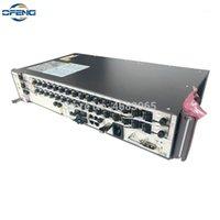 Équipement de fibre optique Huawei GPon OLT MA5608T 10G DC, 1 * MCUD1 + 1 * MPWC DC 2 * GPFD B + C + C ++, 16 ports Pon OLT1
