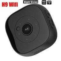 Mini Kameralar H9 WiFi Kamera 1080 P HD Mikro Gece Görüş Hareket Sensörü Video Ses Kaydedici Kamera DV DVR Küçük Kamera