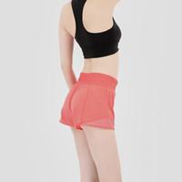 Mujeres Pantalones cortos de yoga Leggings deportivos profesionales corriendo corto rápido ejercicio de ejercicio entrenamiento entrenamiento Pantalones de entrenamiento