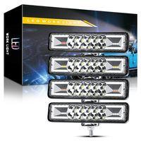 16 LED Arbeitslicht Bar 12V-24V 48W 6000K 4800lm Auto Truck Off-Road ATV SUV-Blitz-Blitz-Arbeitslampe