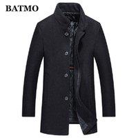 BATMO new arrival winter high quality wool trench coat men,men's wool casual jackets,plus-size M-4XL AL51 201126