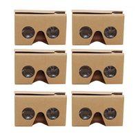 6pcs gafas 3D para Google Cardboard V2 Valencia 4.5- 6 pulgadas Smartphone + Headband1