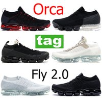 2.0 Seja verdadeiro Homens almofada Tênis de corrida fly 1.0 tênis respiráveis branco Triplo preto Mulheres Sapatos de grife