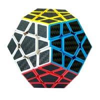 Zcube 3x3 Wumofang углеродное волокно стикер волшебные головоломки Cubo Magico Cube Mink Teaser Dodecahedron профессиональная образовательная игрушка 201219