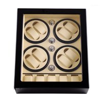 Relógio caixas de caixas enrolador, Lt de madeira rotação automática 8 + 5 caixa de armazenamento caixa de exibição 2021 estilo (dentro branco fora preto) 1
