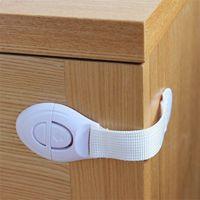 Анти зажмите ручную ткань ремень детский шкаф дверной ящик защитный замок Удлинитель защитить ребенка не может открыть детей замки бытовые 0 55SIE F2