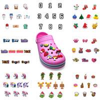 MOQ = 2LOTS optional Schuh Charms Jibitz für Croc Wholesale PVC Charms Zubehör Werbegeschenk für Kinder