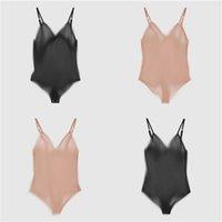새로운 레이스 Womens Bodysuit 속옷 럭셔리 편지 인쇄 숙녀 스타킹 수영복 메쉬 통기성 섹시한 onesies 속옷