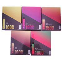 Yeni 21 + Renkler Puf XXL Diposable Vape Pen1600Puffs Önceden doldurulmuş VPAE PEN VS Puf Plus Puf Bar Artı