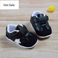 Newborn Baby First Walk Обувь Девочки Мальчики Натуральные Кожа Мокасины Предовольственные Антискальсовая Обувь Обувь малышей для детей