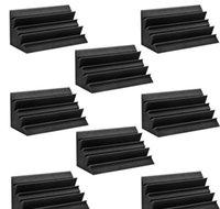 Bassfalle Schaum Wand Ecke Audio Sound Absorption Foam Studio Accessorie Akustische Behandlung Panels 4PPSC / Set BBBBBBBBPT Warmslove
