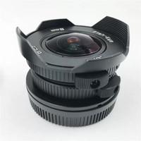 8mm F3.8 Suit Lensler Mikro Dört Thirds Mounts Kamera Balık Gözü C Dağı Geniş Açı Balıkgözü Len Odak Uzunluk Balık Göz Lens