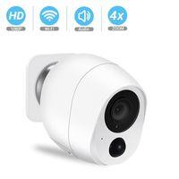 야외 IP 카메라 1080P HD 배터리 WiFi 무선 감시 카메라 2MP 홈 보안 PIR 알람 오디오 저전력