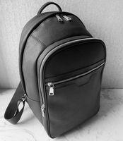 5 اللون أعلى جودة حقيبة العلامة التجارية مصمم حمل على ظهر حقيبة رجل الأزياء حقيبة مدرسية حقيبة سفر فاخرة، أكياس القماش الخشن الأسود