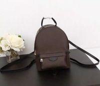 핸드백 패션 가방 배낭 레이디 팜 스프링스 정품 가죽 가방 편지 소녀 배낭 레이디 가죽 가방 가방